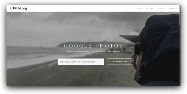 Embed Google Photos 2