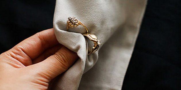 Как почистить золото дома