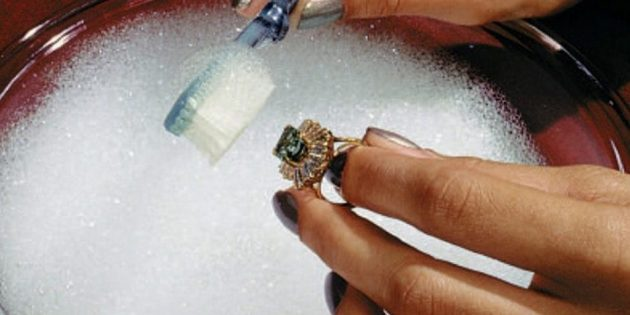 Как можно почисть золото в домашних условиях 158