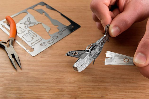 Металлический 3D-пазл