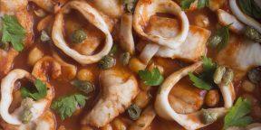 Как быстро приготовить вкусную и полезную еду: рыбное рагу