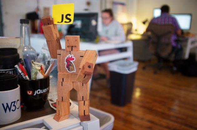 Node.js backend & React frontend