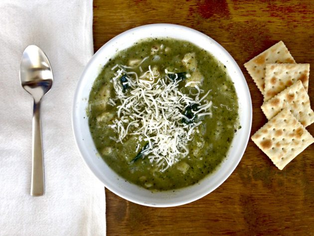 Крем-суп с цукини