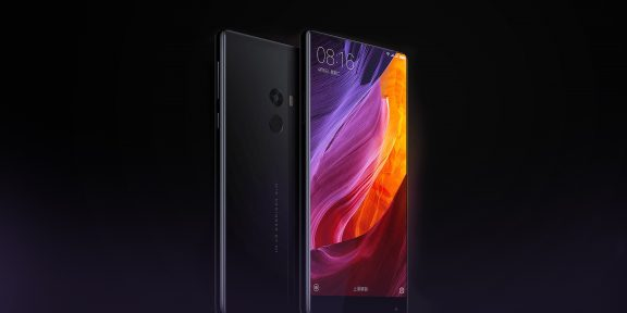 Xiaomi представила Mi Mix — смартфон с керамическим корпусом и безрамочным дисплеем