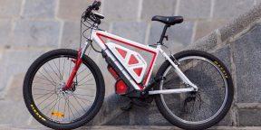 Комплект Eczo.bike позволяет гонять на велосипеде даже в несезон со скоростью до 50 км/ч