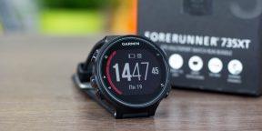 ОБЗОР: Garmin Forerunner 735XT — продвинутые часы для занятий триатлоном