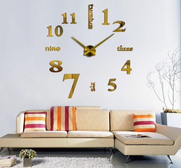 Большие DIY-часы