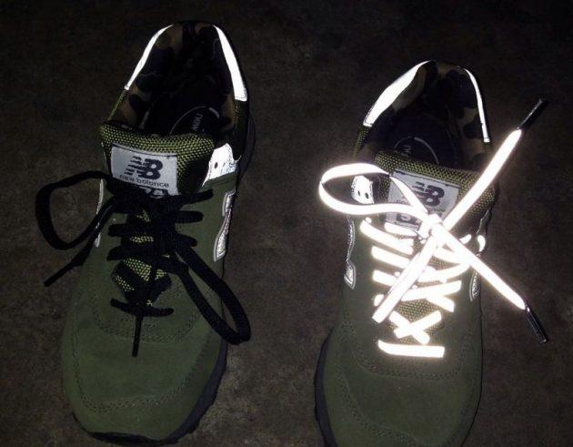Светоотражающие шнурки