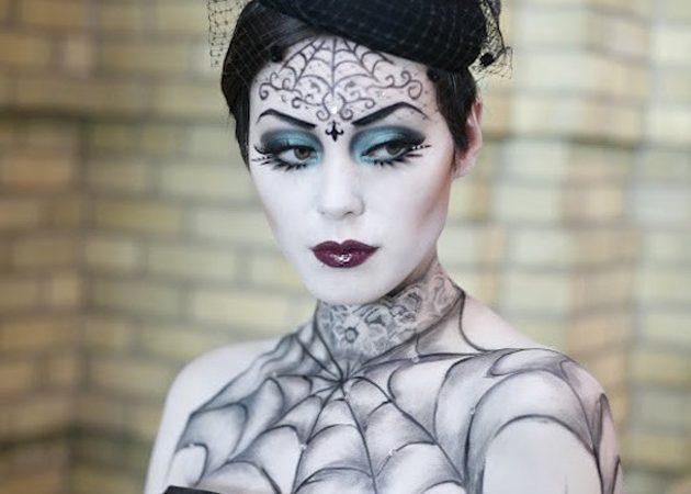 макияж на хеллоуин: ведьма 1