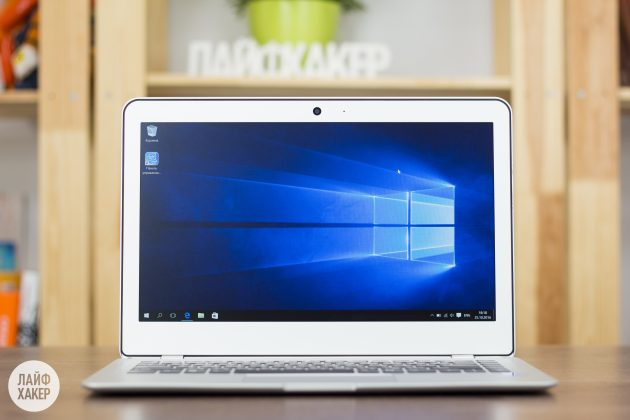 Haier LightBook: Windows 10