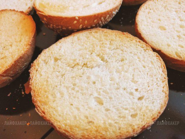 Бургер «Неряха Джо»: следите, чтобы булочки не подгорели