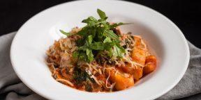 Как приготовить оригинальный обед для девушки: ньокки с грибным соусом
