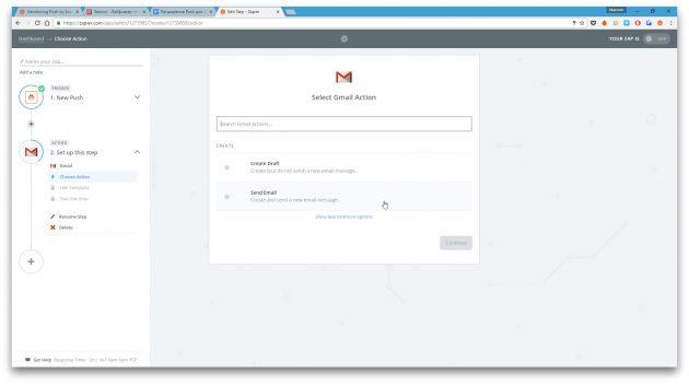 zapier: gmail
