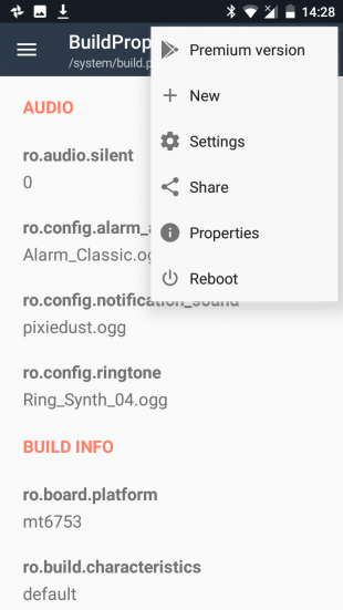Pixel XL BuildProp Editor new