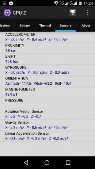 Vernee Mars CPU-Z 4