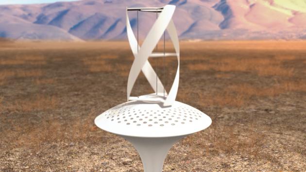 WaterSeer: ветряная установка для конденсации воды