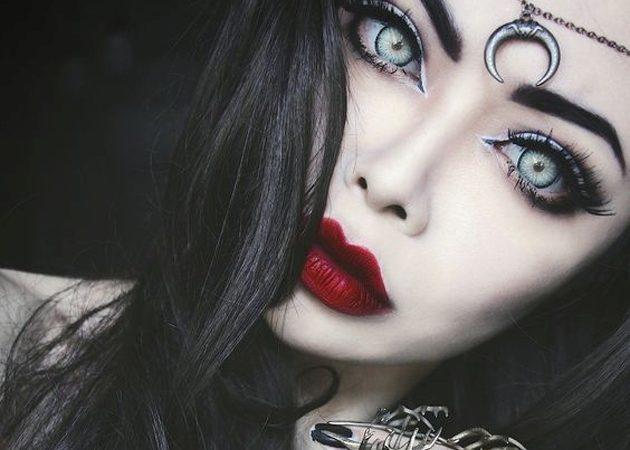 макияж на хеллоуин: ведьма 3