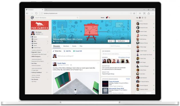 Facebook запустил Workplace