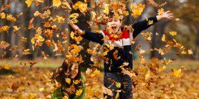 13 способов развлечь ребёнка на осенних каникулах