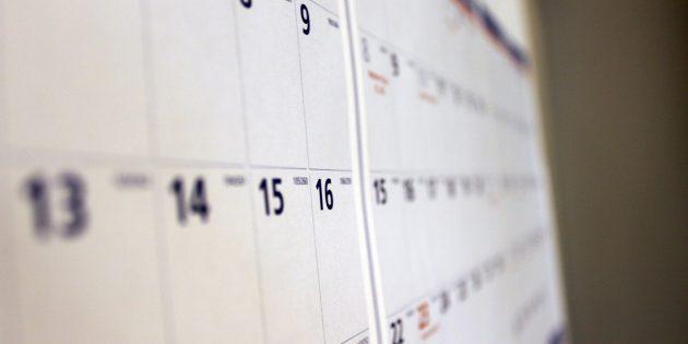 Как составить расписание на каждый день и ни разу его не нарушить