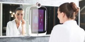 Зеркало HiMirror подскажет, как избавиться от проблем с кожей