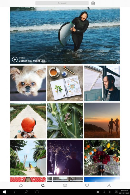 Instagram выпустил полноценное десктопное приложение