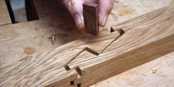 Как скрепить деревянные детали без гвоздей, клея и саморезов
