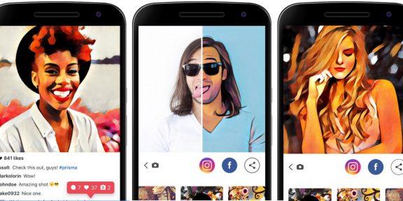 Prisma для iOS научилось обрабатывать видео