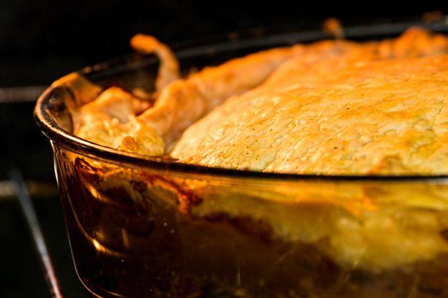 как приготовить куриный пирог