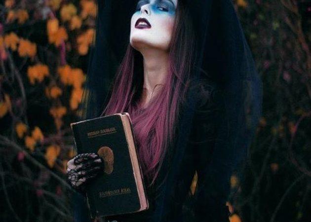 макияж на хеллоуин: ведьма 2