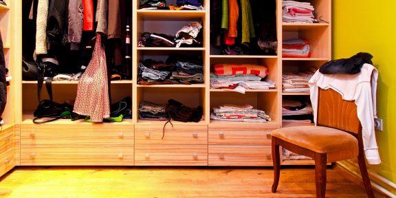 5 неожиданных решений для организации гардероба