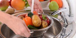Как правильно мыть фрукты и овощи