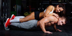 19 парных упражнений, которыми можно разнообразить тренировки