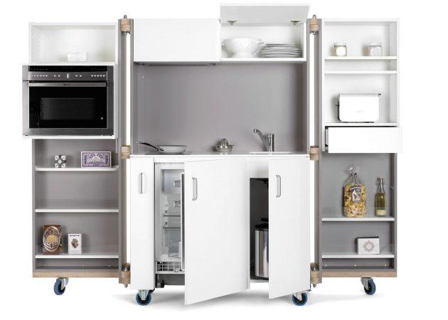 Дизайн маленькой кухни: ультраминимализм