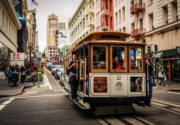 Канатный трамвай в США