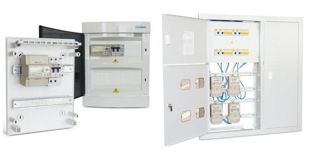 Установка электросчётчика на DIN-рейку и в щиток