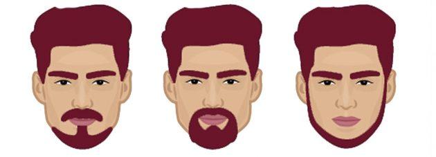 Борода для квадратной формы лица