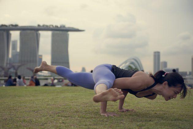 спорт при простуде: йога