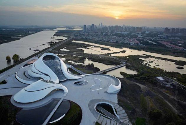 китайская архитектура: Оперный театр в Харбине