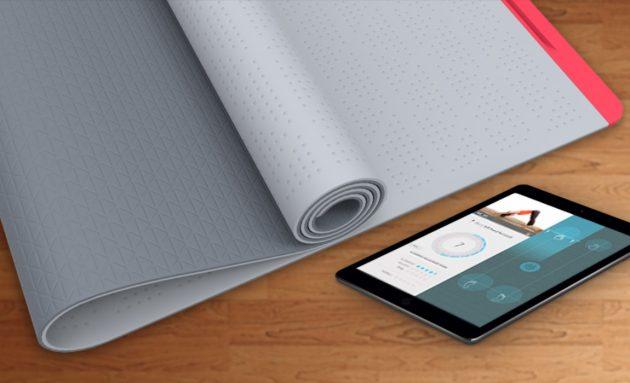 Умный коврик для йоги SmartMat