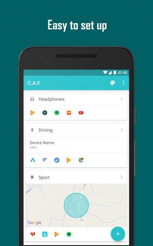 Contextual App Folder: set up