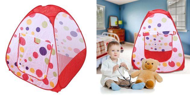 что подарить ребёнку на Новый год: Детская палатка