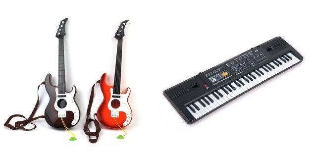 подарки детям на Новый год: Детские музыкальные инструменты