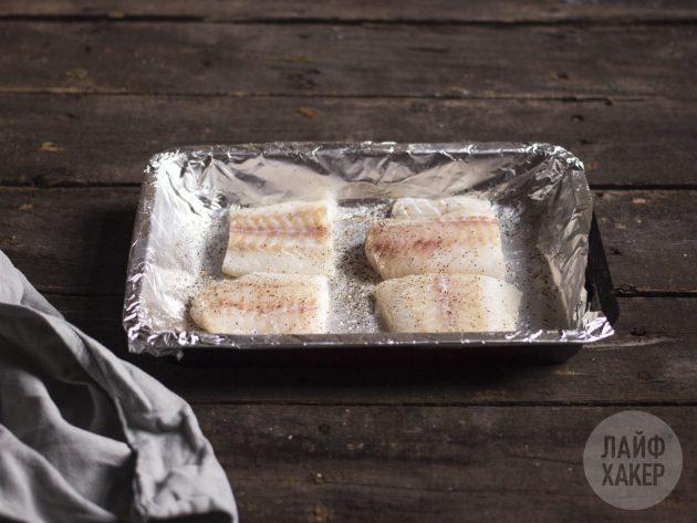 Как приготовить запечённую рыбу в хрустящей панировке: подготовьте рыбу