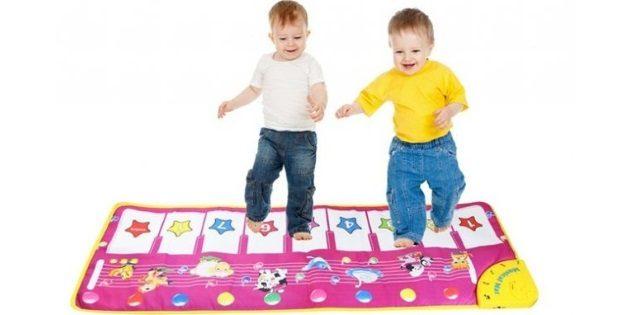 Подарки детям на новый год: Детский музыкальный ковёр