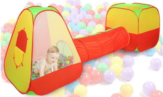 Что подарить ребёнку на Новый год: Игровая палатка с трубой