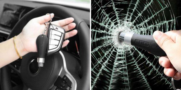 Устройство для аварийного выхода из автомобиля