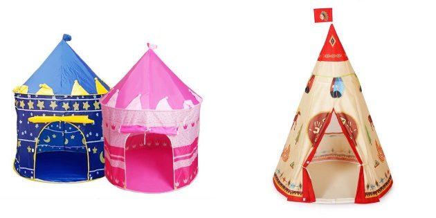 что подарить ребёнку на Новый год: Юрта и вигвам для детей