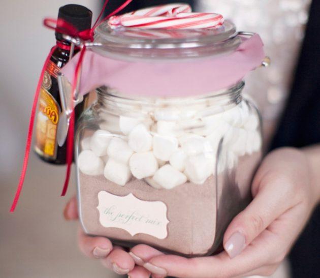Как сделать подарки на Новый год своими руками: Набор для горячего шоколада