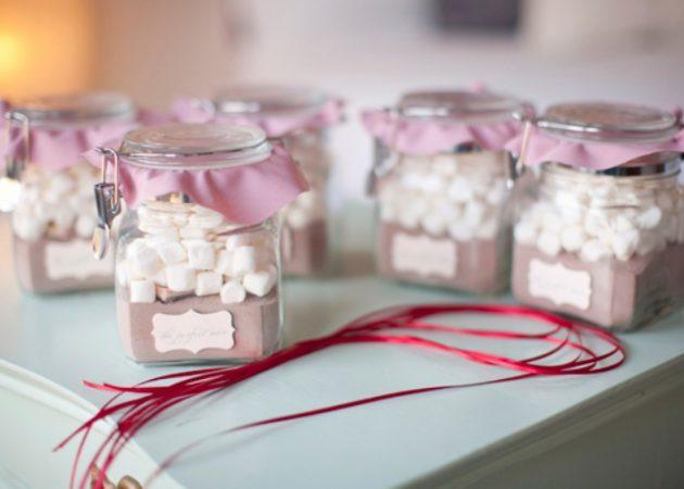 Подарки на Новый год своими руками: Набор для горячего шоколада
